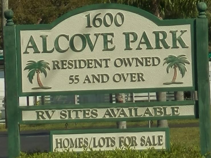 Alcove Sign